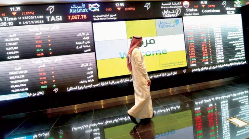 الأسهم السعودية تخترق حاجز 8000 نقطة .. والسيولة تصعد 24 %