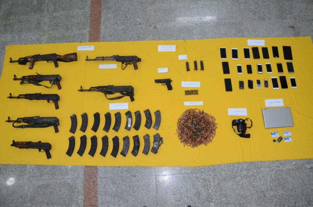 رئاسة أمن الدولة : في عملية استباقية القضاء على (6) إرهابيين والقبض على أحدهم