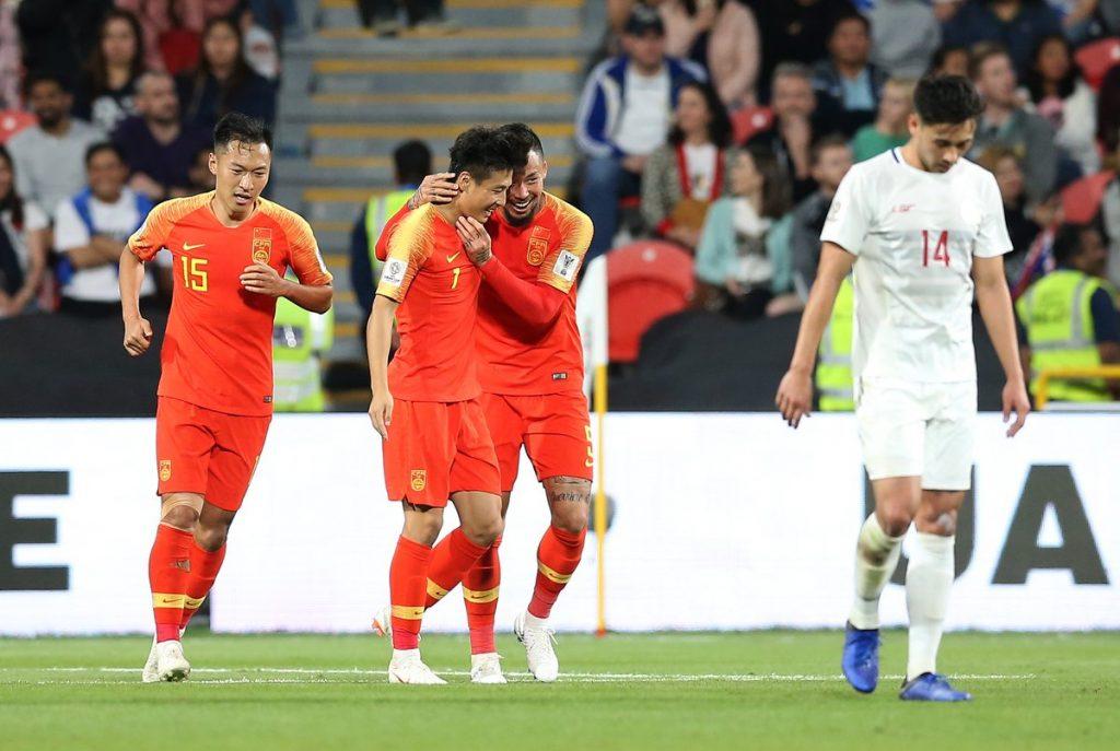 التنين الصيني ثاني المتأهلين إلى ثمن نهائي كأس آسيا 2019