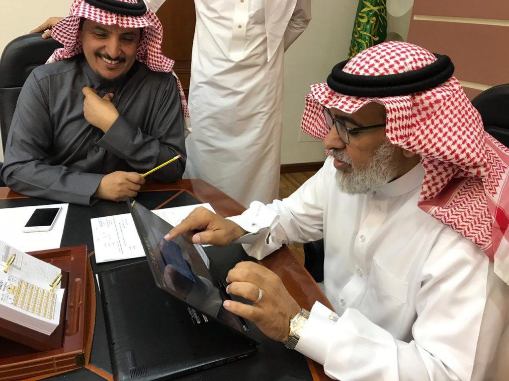 اللهيبي يطلق جائزة التميز لساعة النشاط بتعليم الطائف