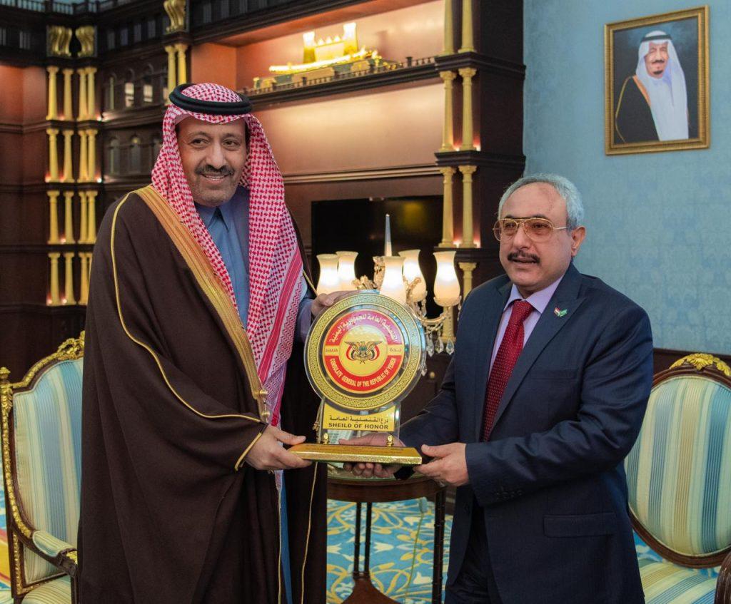 امير الباحة يستقبل القنصل العام لجمهورية اليمن الشقيقة بجدة