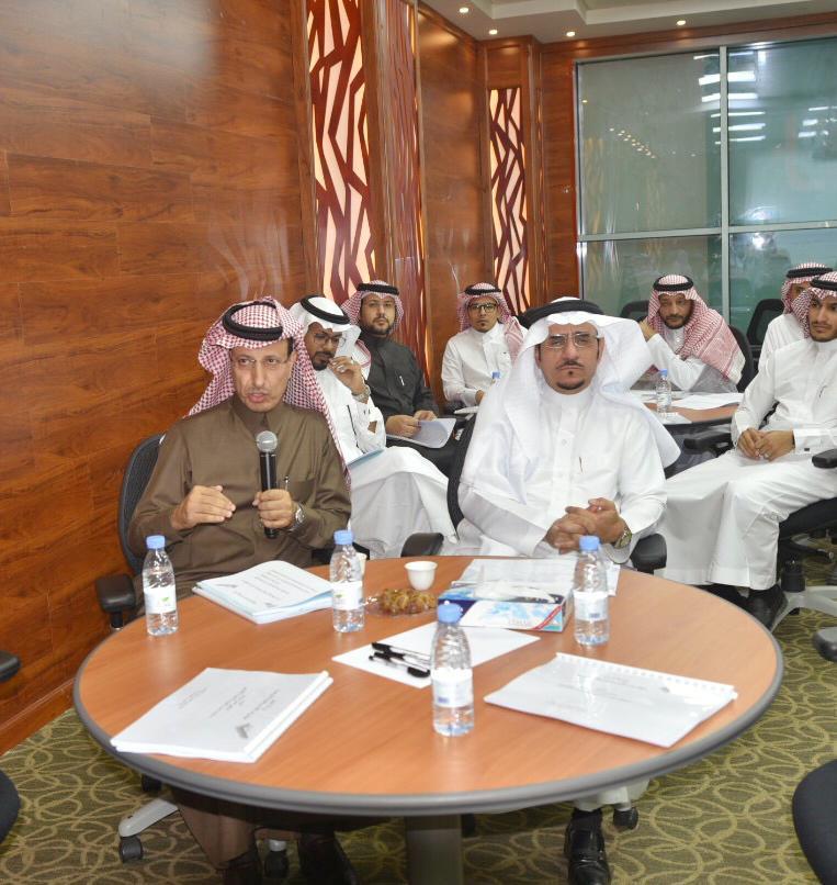 جامعة الباحة تقيم ورشة عمل «مؤشرات الأداء والمقارنة المرجعية»