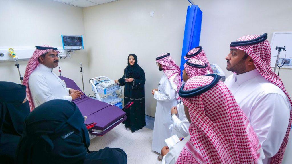 افتتاح وحدة الولادة النموذجية بطوارئ مستشفى أبو عريش