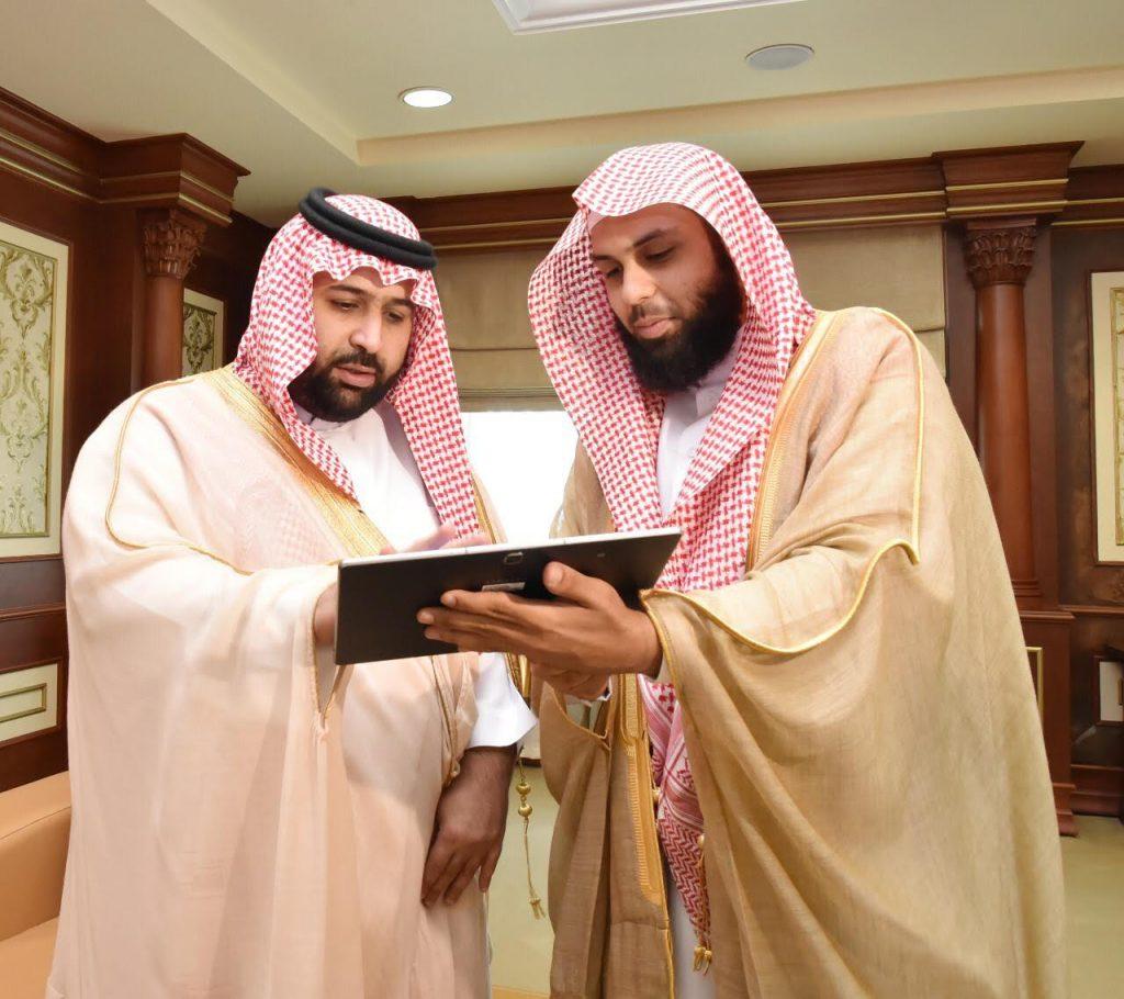 نائب أمير جازان يدشن الموقع الإلكتروني لجمعية تحفيظ القرآن الكريم بالطوال
