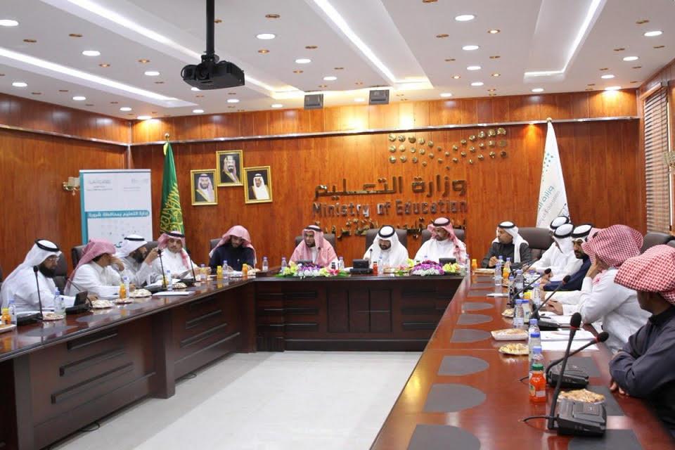 أمين عام وزارة التعليم يزور إدارة التعليم بمحافظة شرورة والمدارس التابعة لها