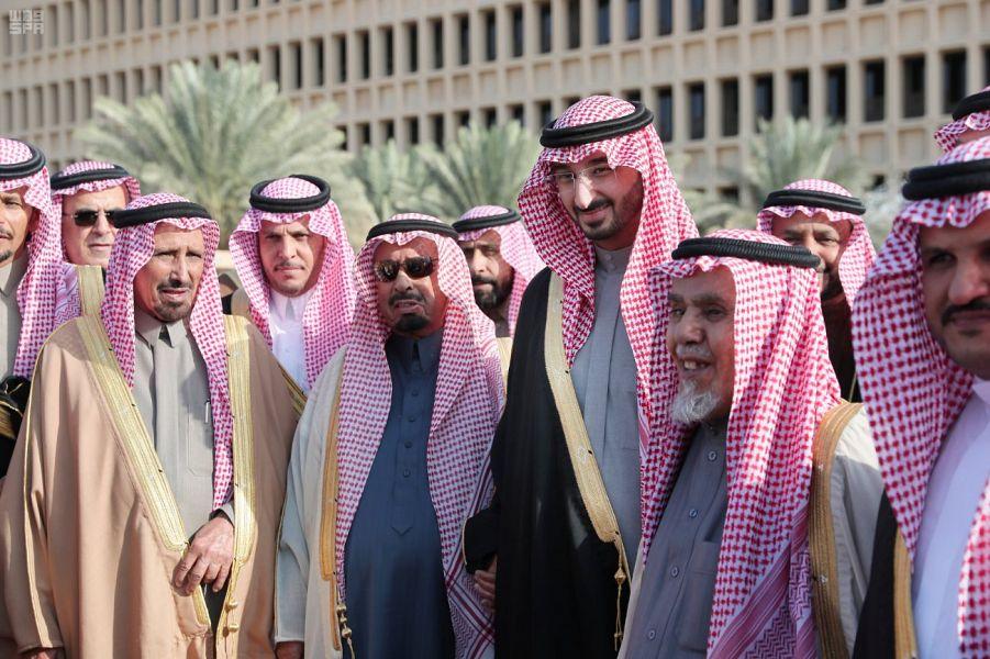 عبدالله بن بندر لأمراء الأفواج بالحرس الوطني: حنا ما نعمل إلا مع خيرة الرجال وأنتم من الخيرة