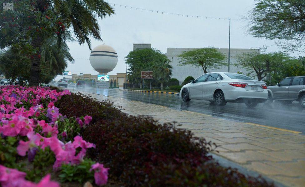 أمطار على القصيم والشرقية