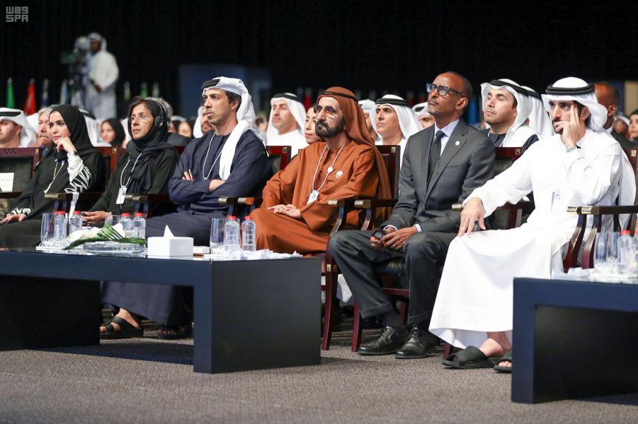الدورة السابعة للقمة العالمية للحكومات تختتم أعمالها في دبي