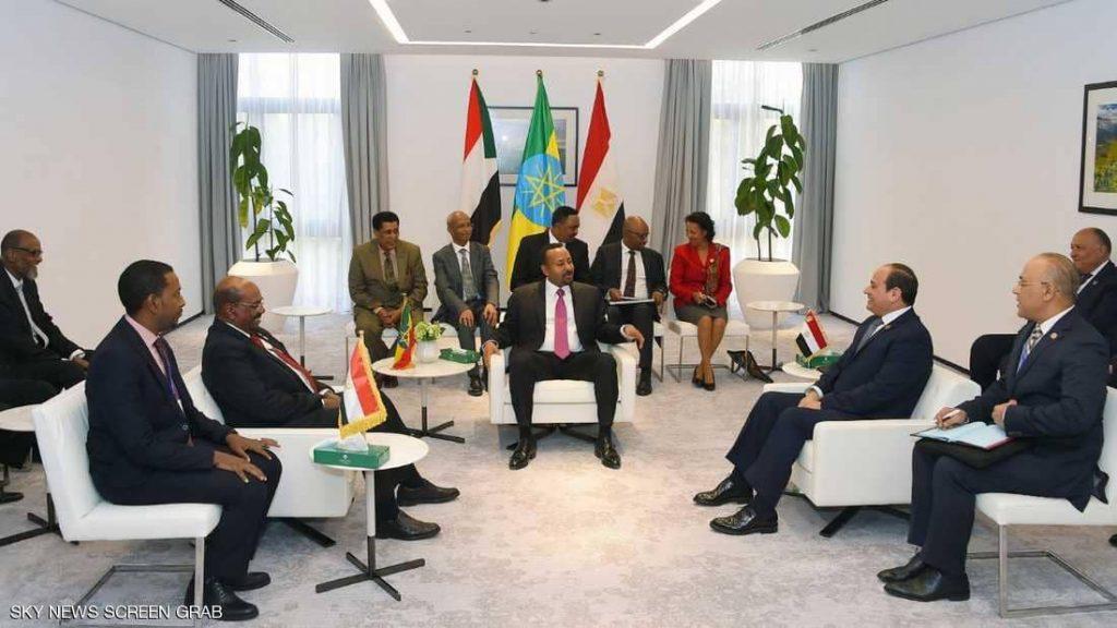 الرئيس السوداني ونظيره المصري ورئيس الوزراء الإثيوبي يتفقون على تشييد النهضة مع مراعاة منافع البلدان الأخرى