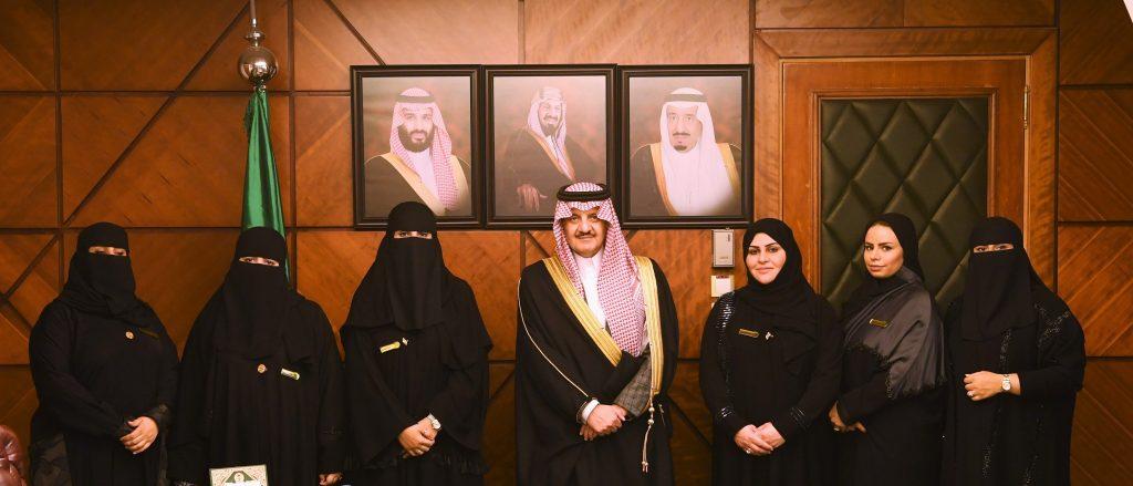 الأمير سعود بن نايف يستقبل منسوبات معهد الإدارة العامة بالمنطقة الشرقية