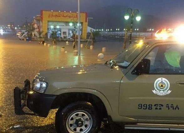 مدني الباحة يدعو لأخذ الحيطة جراء التقلبات الجوية المتوقعة على المنطقة