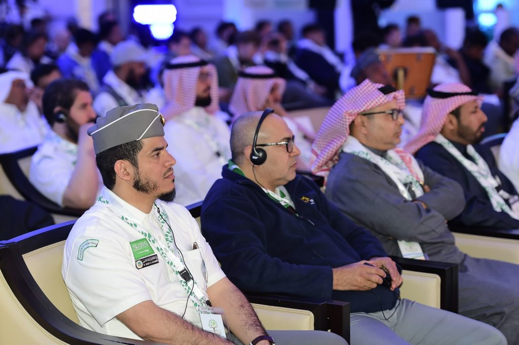 """بدء فعاليات المؤتمر العالمي """" الكشفية وحماية البيئة"""""""