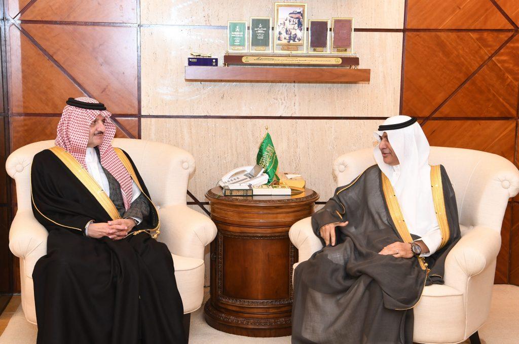 الأمير سعود بن نايف يستقبل نائب محافظ الهيئة السعودية للمواصفات والمقاييس والجودة