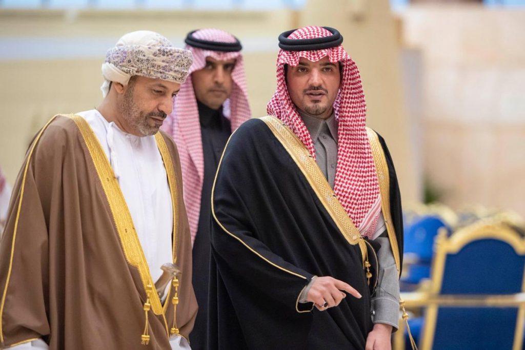 وزير الداخلية بسلطنة عمان يصل الرياض