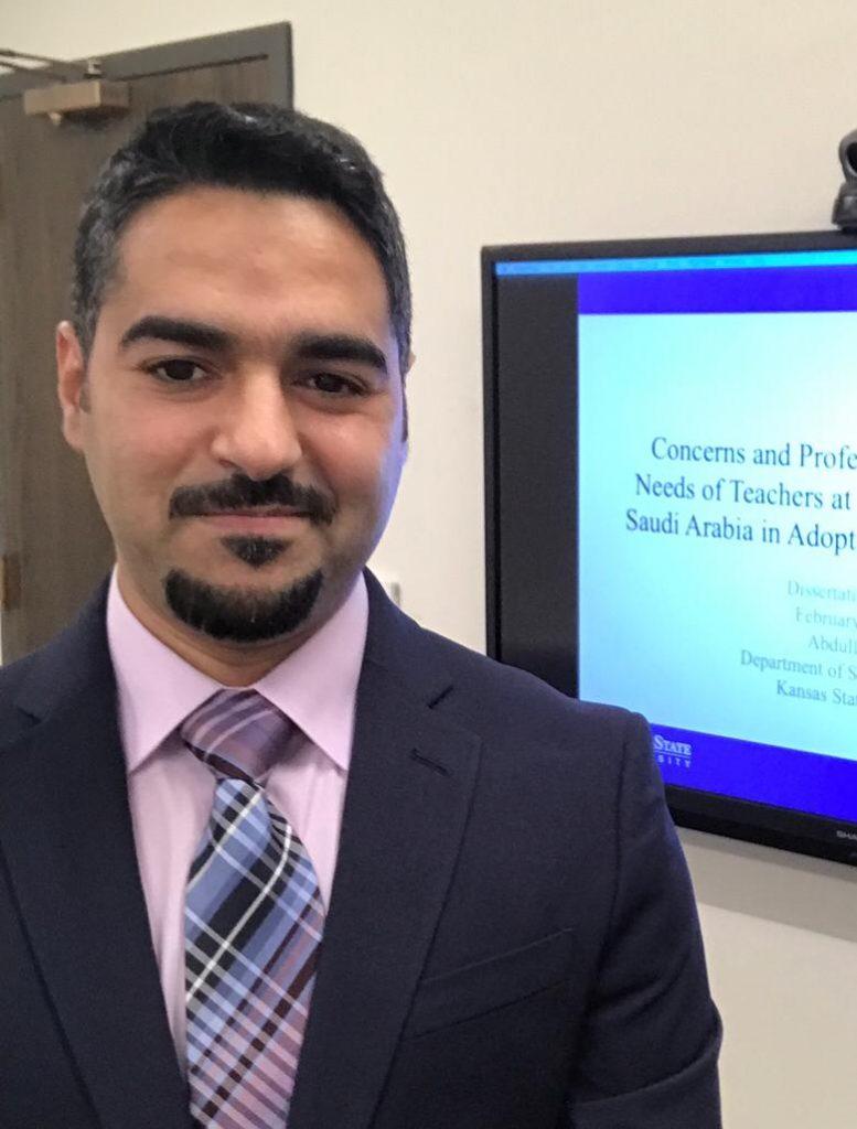 درجة الدكتوره لعبدالله آل عزان وزوجته أسماء الحمادي من الولايات المتحدة الأمريكية