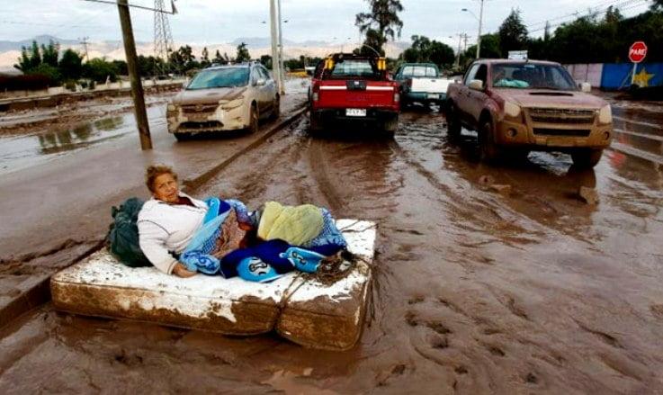 خسائر بملايين الدولارات في تشيلي بسبب الطقس