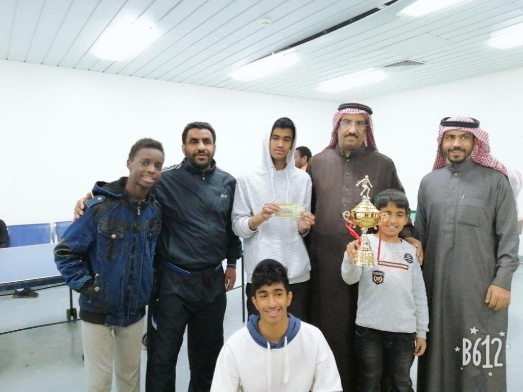 نهائي رياضي لبطوله (وجه السعد) لأبناء مركز الدكتور ناصر الرشيد لرعاية الايتام بحائل