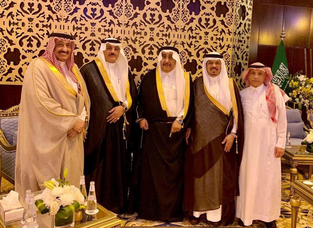أمراء ووزراء يشرفون حفل زفاف بدر الجميح