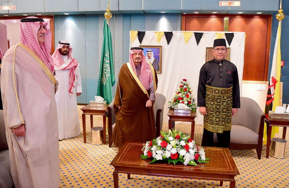 أمير منطقة الرياض يشرف حفل سفارة سلطنة بروناي دار السلام