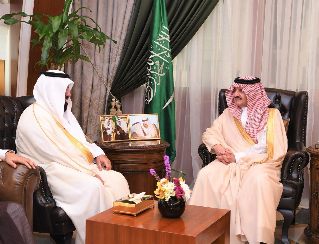 الأمير سعود بن نايف يستقبل أعضاء مجلس إدارة الجمعية الخيرية لتحفيظ القرآن الكريم بالمنطقة الشرقية