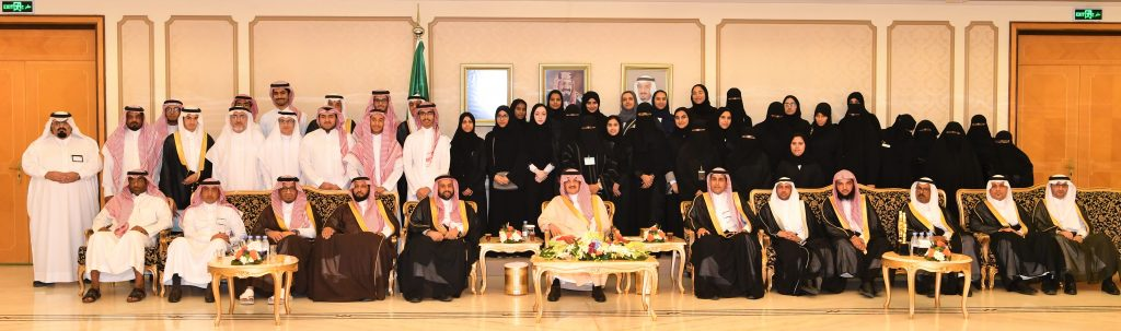 الأمير سعود بن نايف يستقبل طلاب وطالبات المنطقة الحاصلين على جائزة وزارة التعليم للأداء المتميز والموهوبين والموهوبات