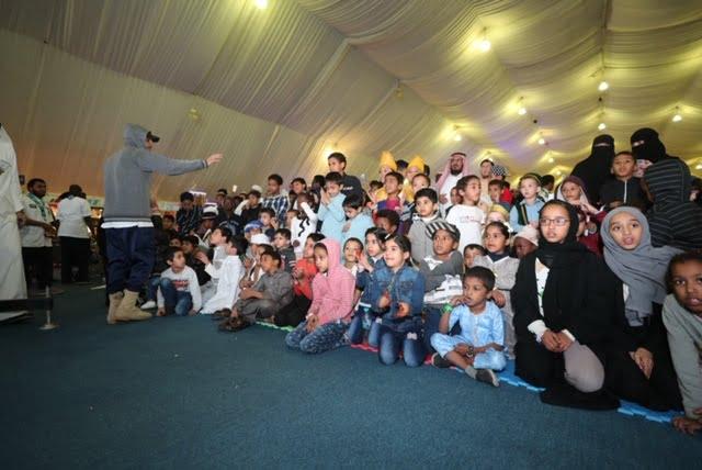بالصور…الأطفال يزينون مهرجان الثقافات والشعوب الثامن بالمدينة المنورة