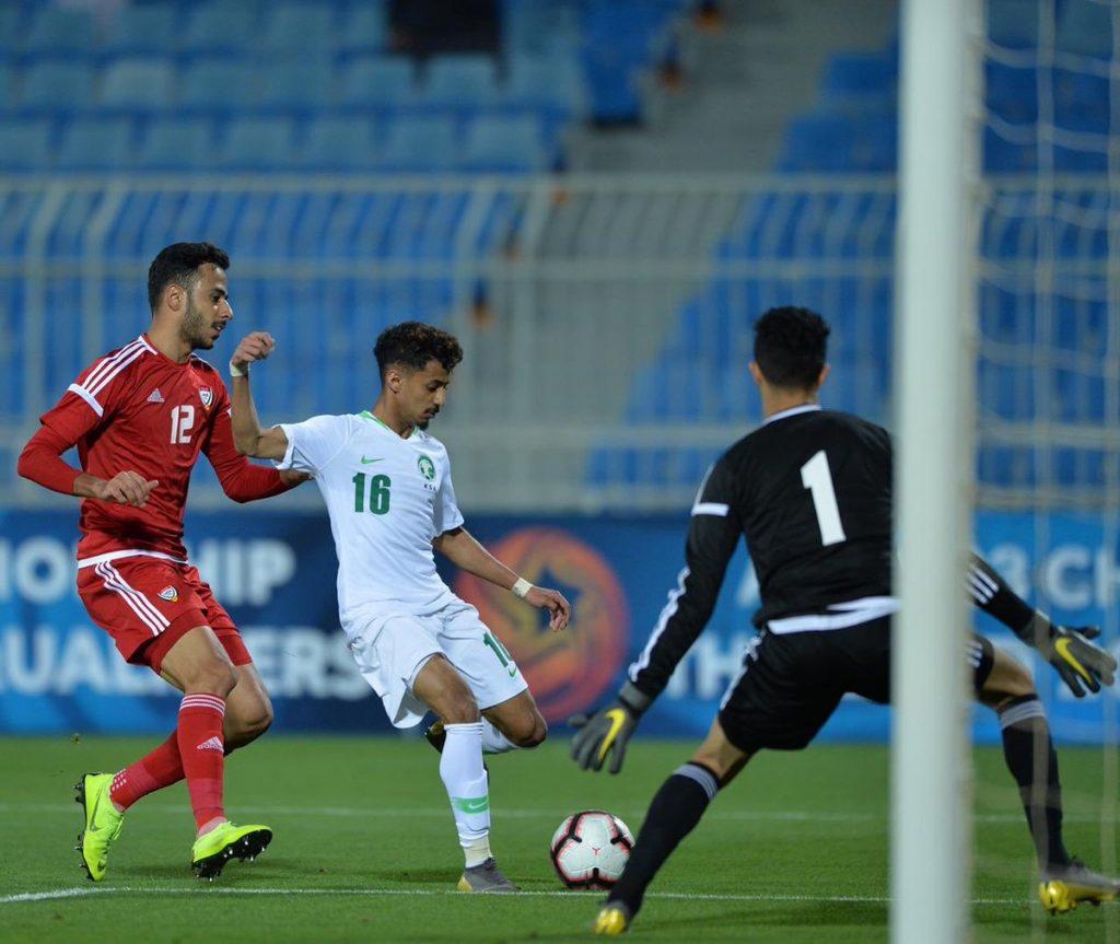 الأخضر الأولمبي يتأهل إلى كأس آسيا 2020