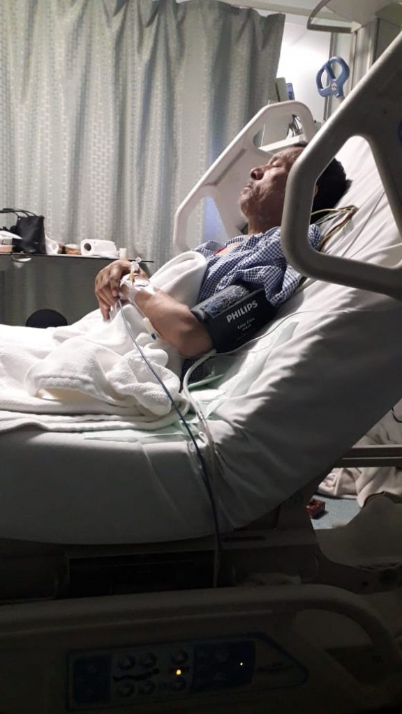 الجوف .. بنات المقيم أحمد يناشدن نقل والدهن لمستشفى متخصص