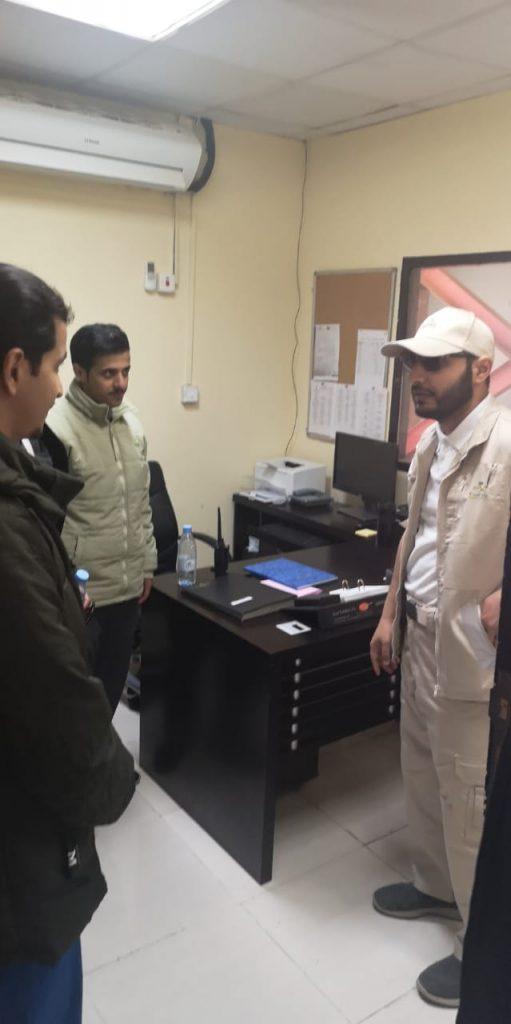 مدير عام الشؤون الصحية بمنطقة الباحة يتفقد عدد من المراكز الإسعافية