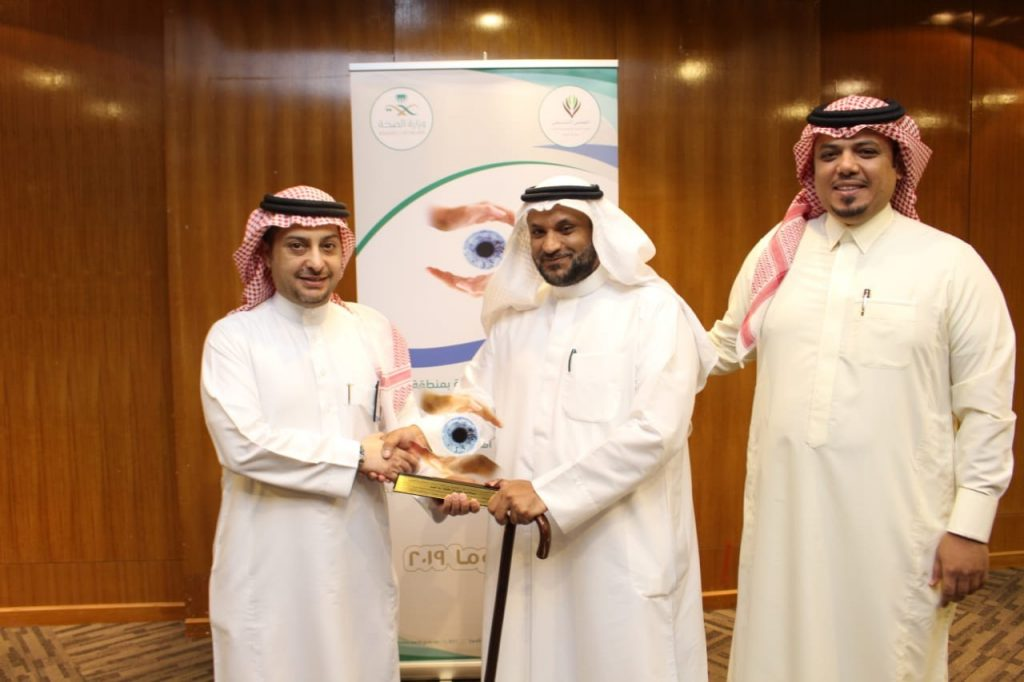 """أثناء تفعيل الأسبوع العالمي للجلوكوما 770 عملية للمياه البيضاء في """"صحة الرياض"""" خلال عام"""