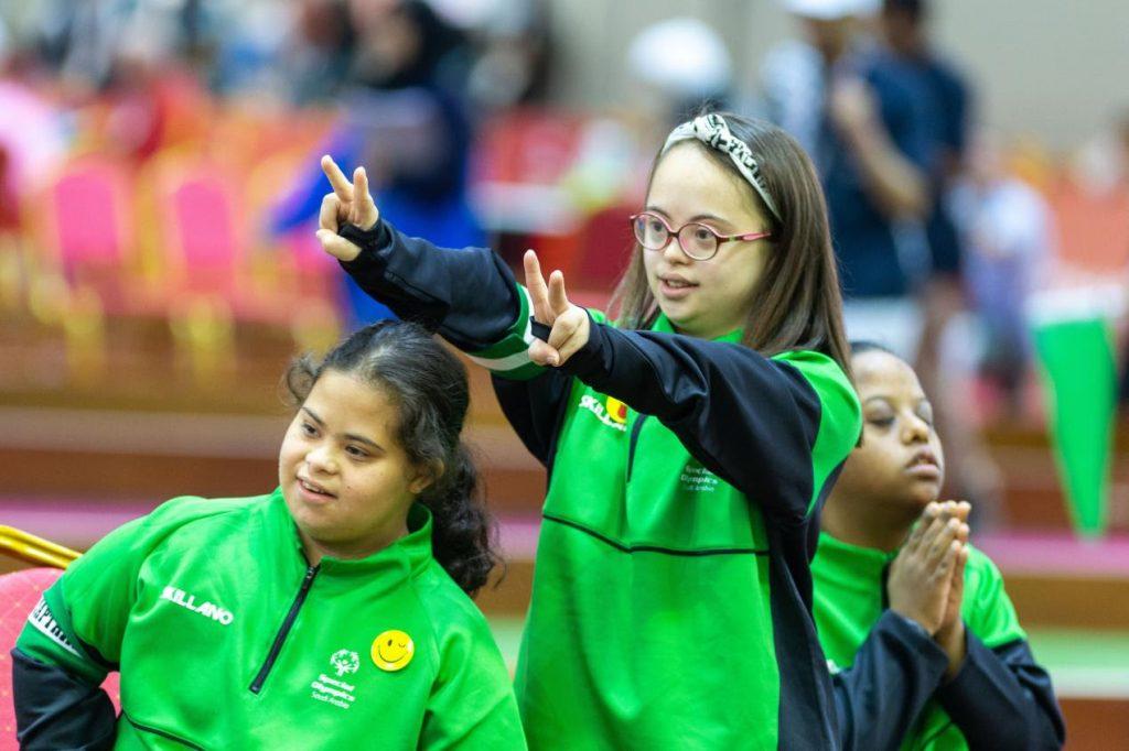 منتخب السيدات في رياضة البوتشي يستهل مشاركته في أولمبياد 2019 بإحراز فوزين