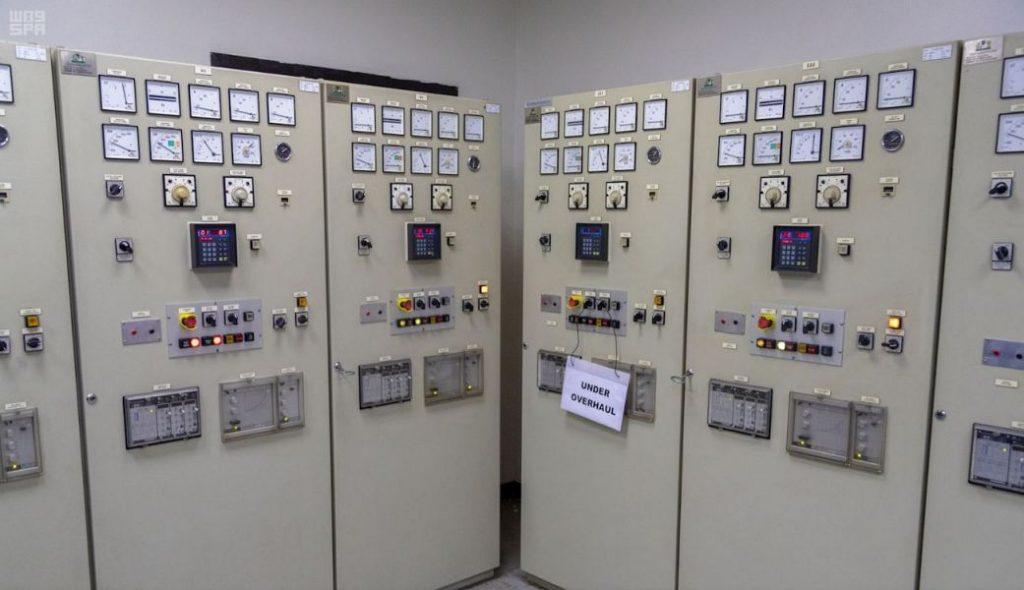 رئاسة شؤون الحرمين تنفذ تجربة التغذية الكهربائية للحرم المكي من خلال محطة كدي الاحتياطية