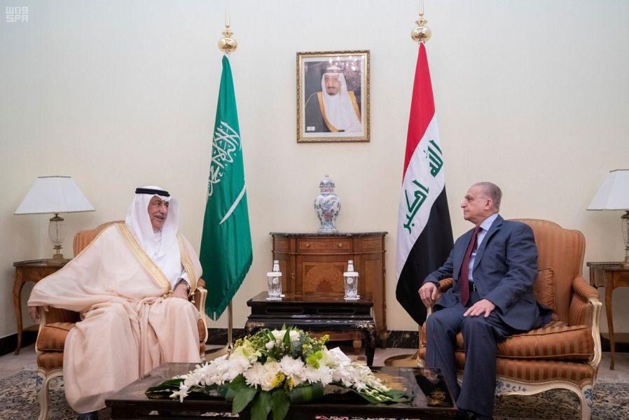 وزير الخارجية العراقي يستقبل وزير الخارجية