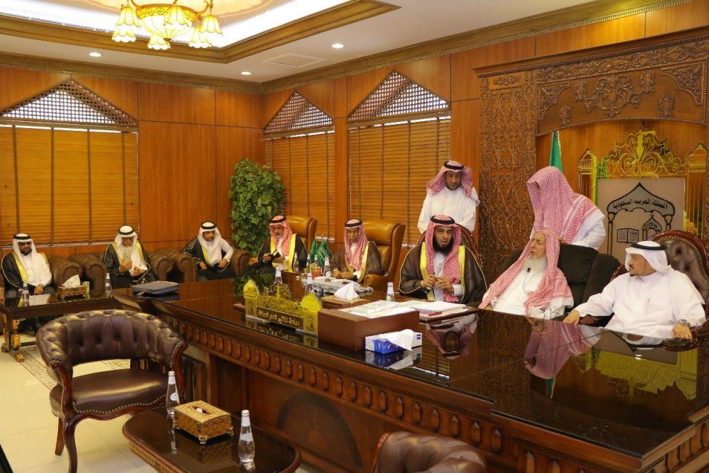 """""""بلدي الرياض"""" يزور سماحة المفتي لاستعراض أنشطة المجلس"""