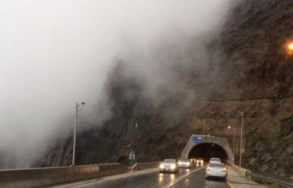 أمطار متوسطة إلى خفيفة على منطقة الباحة