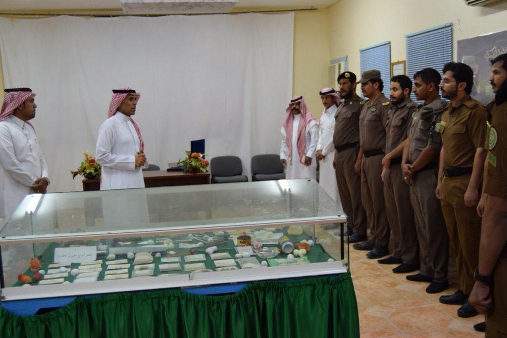 مدير مكافحة المخدرات بتبوك يتفقد مكتب المكافحة في محافظة الوجه