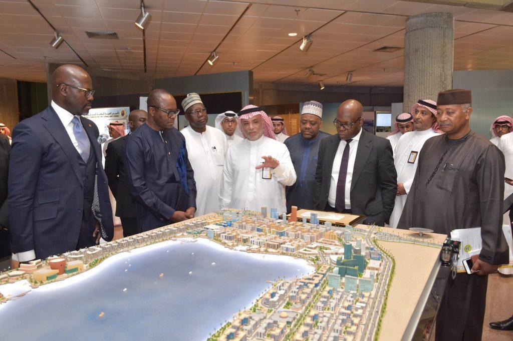 وزير الموارد البترولية النيجيري يزور الهيئة الملكية بالجبيل للتعرف على مكانتها الاقتصادية والاستثمارية