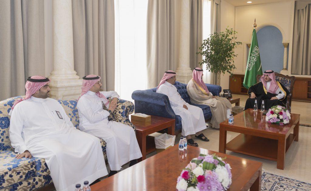 أمير الجوف يستقبل مدير هيئة السياحة والتراث الوطني المعين حديثاً