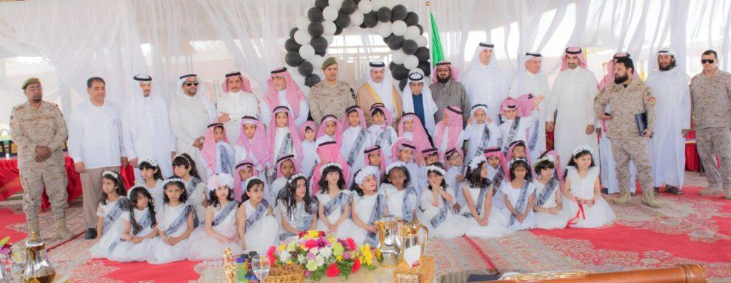 مدير تعليم تبوك يرعى حفل نجاح أول دفعة لمدرسة الطفولة المبكرة في المملكة