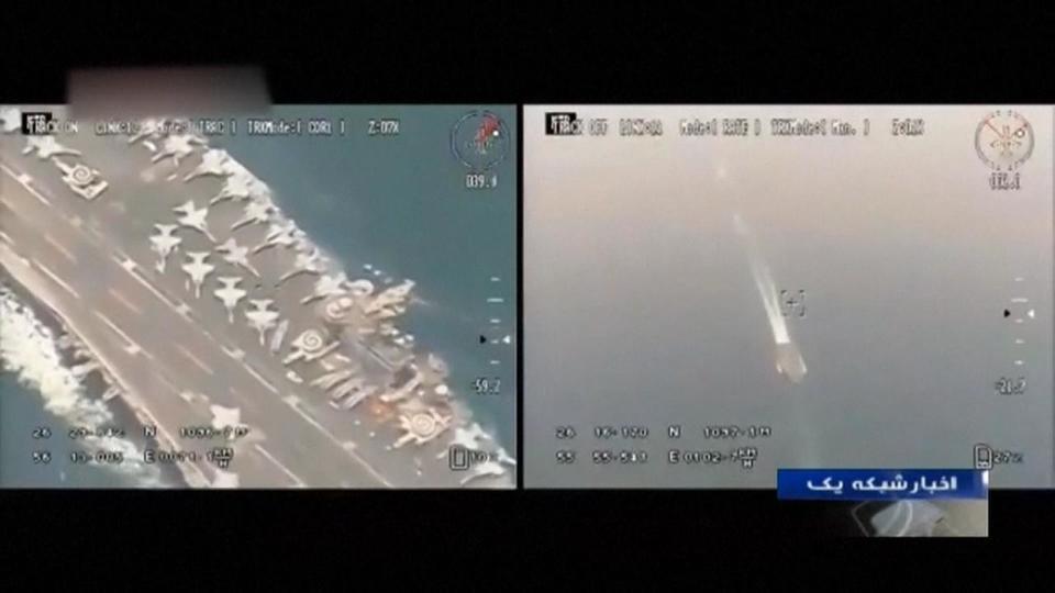 """قيادة القوات الأمريكية تكشف """"فضيحة"""" الفيديو الإيراني"""