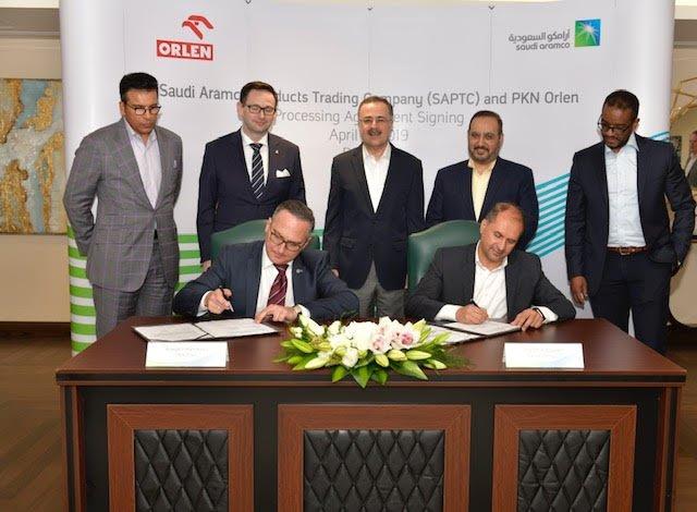 """""""شركة أرامكو السعودية للتجارة"""" توسّع تغذيتها للسوق الأوروبية باتفاقية مع """"بي كيه إن أورلاين"""" شركة تكرير النفط الأولى في بولندا"""