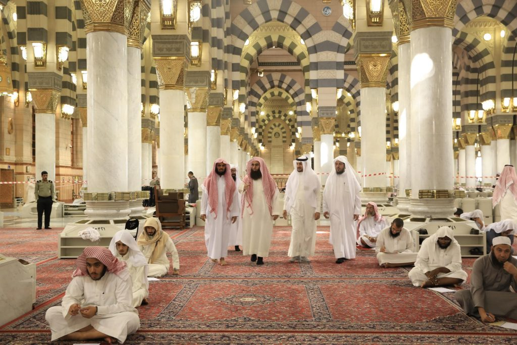 2094 طالباً وطالبة يؤدون الاختبارات النهائية في كلية ومعهد المسجد النبوي