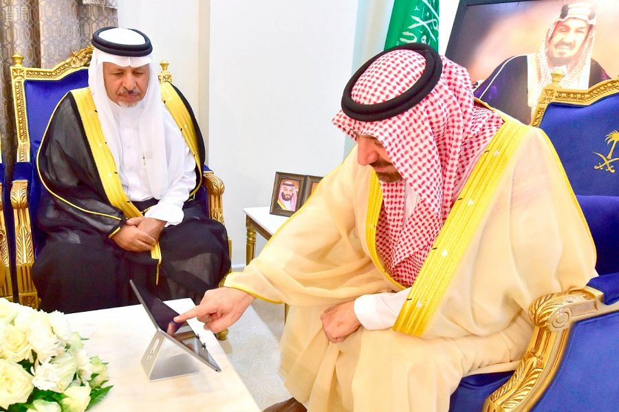 أمير نجران يدشن حملة تفريج كربة