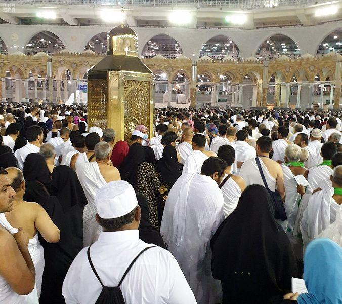 من معالم المسجد الحرام مقام إبراهيم عليه السلام