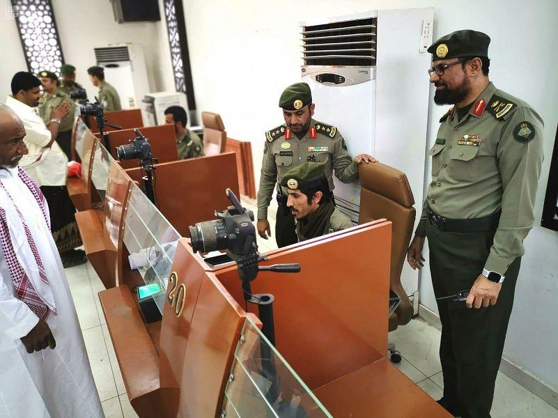 مدير جوازات نجران يتفقد جوازات منفذ الوديعة