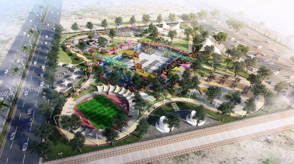 إنشاء 17 حديقة في حاضرة الدمام بمساحة أجمالية بـ 98 ألف متر مربع