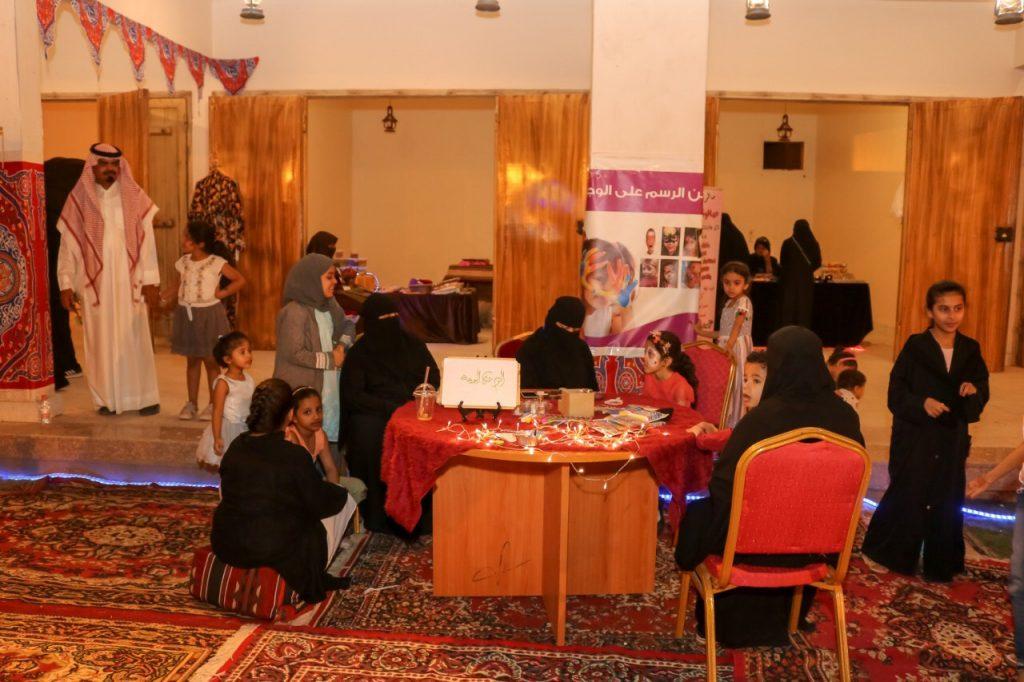 دورة مكياج بمهرجان رمضان أملج