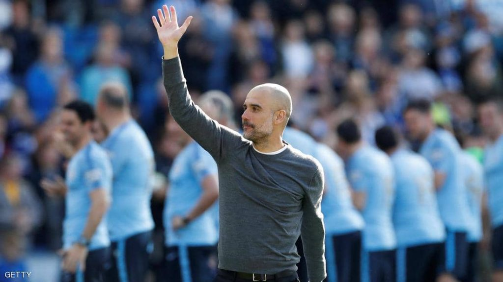 غوارديولا يشكر ليفربول بعد فوزه بلقب بطل الدوري الإنجليزي