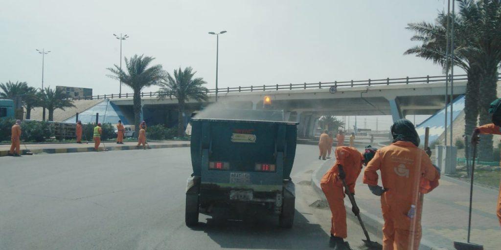 بلدية الجبيل: إزالة 11 ألف م3 نفايات ورمال وأنقاض وأثاث تالف ضمن حملة النظافة للأسبوع الثاني من رمضان