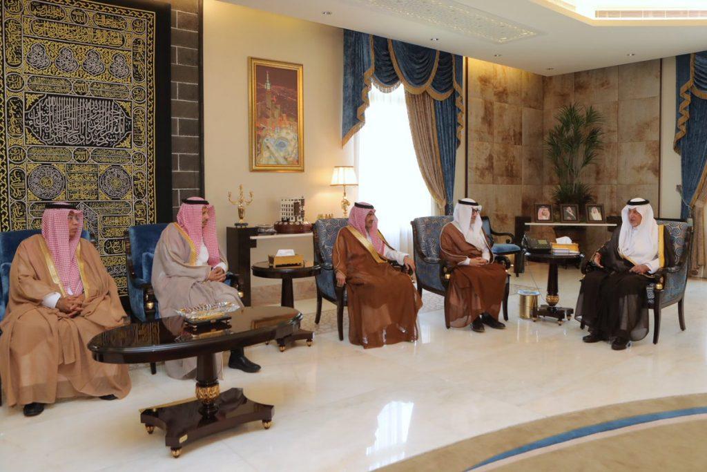 أمير مكة ونائبه يستقبلان رئيس وأعضاء المجلس الجديد لإدارة الغرفة التجارية الصناعية بجدة
